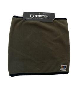 BRIXTON Military Olive Arctic Fleece Gaiter OS Men's
