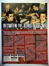 COUPURE DE PRESSE-CLIPPING :  BETWEEN THE BURIED AND ME  03/2010 Paul Waggoner