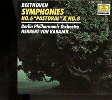 "Beethoven / Symphonies No.6 ""Pastoral"" & No. 8 - Berlin Philharmonic - Karajan"