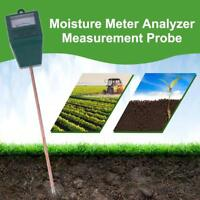 Soil Moisture Meter PH Water Monitor Indoor Outdoor Plant Humidity Hygrometer