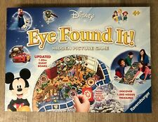 Disney Eye Found It Hidden Picture Board Game 100% Complete 2015 Ravensburger