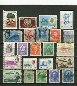 MOYEN-ORIENT - Lot de timbres tous différents