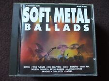 VA - Soft Metal Ballads CD.Queen,Poison,Eagles.,Disc Is In Excellent Condition.