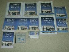 LATIN'S NOT SO TOUGH Level 4 5 6 Worktext s+Answer Keys+CD LOT Karen Mohs SET