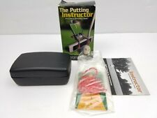 The Putting Instructor  Precision Practice Tool -by Flatblade Mirror golf