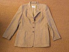 Jobis Angora Wool Checked Blazer Size 40