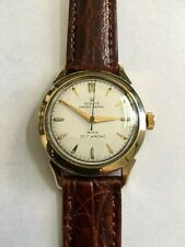 Authentic Vintage 1960s Rolex Tudor Wristwatch Gold Filled, Just overhauled