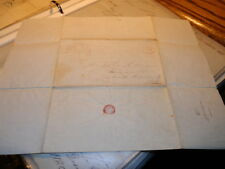#6247,Stampless Letter, Cumberland to Beamsville (Darke Cty )OH 1840's