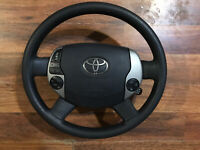2004-2009 TOYOTA PRIUS STEERING WHEEL COMPLETE OEM CONTROLS AND AIRBAG 04-09