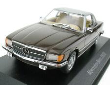 MINICHAMPS - Mercedes-Benz 350 SL braun metallic - 1:43 - Modellauto B66040185