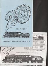 Dampfbahn Club Taunus Oberursel 1977-1997  Heft zum Jubiläum