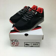 AGENDA X FILA OVERPASS RUNNER 1VR12015 005 BLACK/RED MEN'S US 9.5 NEW