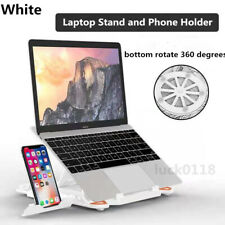 For Notebook Adjustable Computer Cooling Bracket Laptop Stand With Phone Holder