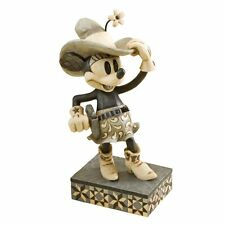 DISNEY MICKEY Statue MINNIE VINTAGE COW GIRL  ENESCO