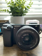 Sony Alpha α6000 24.3MP Digital SLR Camera, Body and 16-50 MM Power Zoom Lens