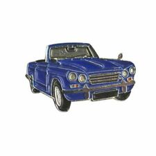 Triumph Vitesse Cut out Lapel Pin Zn148 Blue