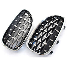 Front Grill Latest Diamond Metero Style For BMW E60 04-09
