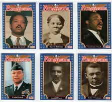11 Black History Cards Tubman Martin Luther King Thurgood Marshall Colin Powell