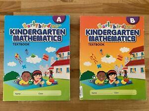 Earlybird Kindergarten Mathematics Textbook A and B set