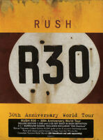 RUSH R30 30TH ANNIVERSARY WORLD TOUR DELUXE 2 CD + 2 DVD BOX SET NEW SEALED