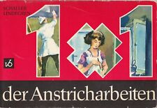 1x1 der Anstricharbeiten Maler, Literatur für den Heimwerker 1970, Fachbuch