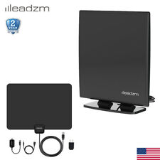 Tv Antenna 4K 1080P Hdtv Indoor Digital Amplified 40~90 Miles 4M Cable Vhf Uhf
