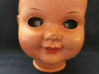 Doll Head Only with Moving Eyes Antique Vintage Doll ! (No.P&K)