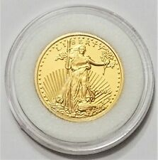 1994-W Half Eagle $5 Tribute Gold Clad .999 Silver Proof Coin – National Collect