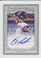 CHRIS ARCHER 2013 Topps Gypsy Queen Auto #GQA-CA Tampa Bay Rays Ace