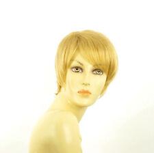 Perruque femme courte blond clair doré ELSA LG26