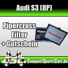 AUDI S3 (8P) |2.0 Turbo| Pipercross Sportluftfilter/Tauschfilter ÖLFREI