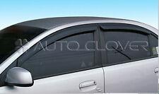 Sun Shade Rain Guard Door Window Vent Visor for 06-10 Kia Rio 4DR w/Tracking No.