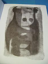 JACQUES DELPECH NUITS BLANCHES 1965 Illustré RENE BOUILLY / Vélin ENVOI Signé