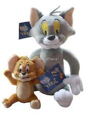 2Pcs Tom & Jerry Cartoon Movie Characters Stuffed Soft Plush Toy Dolls Kids Gift
