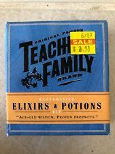 Restorative Elixirs & Potions Kit Age Old Wisdom Proven Products Teacher Nib