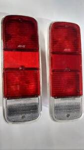 VW Transporter T2 LT I 1 Van 1971-1993 Tail Light LENSES Left Right BUS 2pcs RED