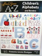 Alma Lynne A to Z Childrens Alphabets and Borders Cross Stitch Pattern Booklet