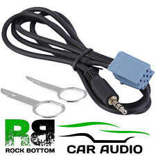 AUDI Concert fábrica equipada coche MP3 iPod iPhone AUX entrada 3.5 mm Jack Cable