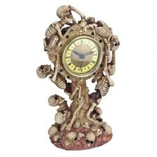 JQ9371 - Skeleton Crew Sculptural Mantle Clock