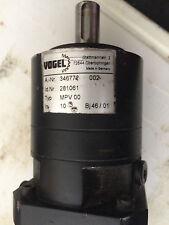 Vogel Getriebe MPV00 I=10 - Lenze Servo MDS MCS