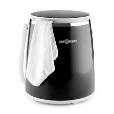 OneConcept 3.5 kg Table Top Mini machine à laver Eco Wash cycle d'essorage 380 W Noir