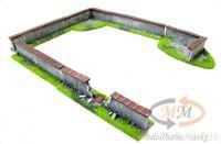 Gelände Mauernset 6-teilig Handarbeit geeignet für Spur 0 1:43 - NEU