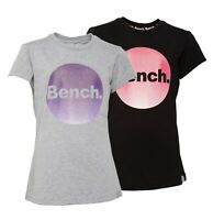 Girls Bench Printed Crew Short Sleeve Jersey T Shirt Sizes Age from 7 to 14 Yrs