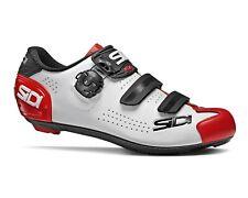 Sidi Alba 2 Road Cycling Shoes - White/Black/Red [Size:36~47 Eur]