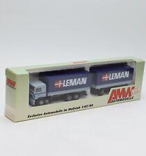 """AWM 53161 Volvo LKW Hängerzug """" Spedition LEMAN """", OVP, 1:87, 121/11"""
