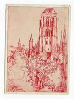 2039- St Marien in Danzig Zeichnung v. B.Reinbacher 1953