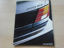 54185) Hyundai Pony Holland Prospekt 199?