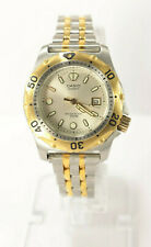 Casio Diver's Watch LD-902 Two Tone Unisex Vintage 1990's New