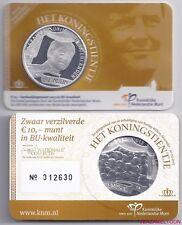 "NEDERLAND 10 EURO 2013: ""HET KONINGSTIENTJE"" BU KWALITEIT IN COINCARD"