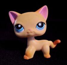 Littlest Pet Shop #339 Yellow Orange Race About Ranch Cat Blue Eyes LPS